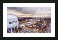 Hazen, AR   Hazen Watertower Picture Frame print