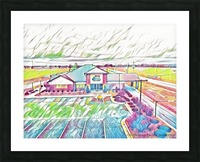 Vilonia Water 2 Picture Frame print