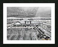Vilonia Water 1 Picture Frame print