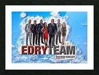 Art   Photo  EDRY team 1 Picture Frame print