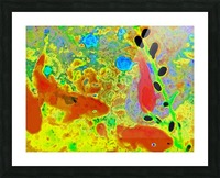 photo Koi Series  2 16 Picture Frame print