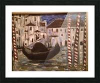 Gondola Picture Frame print