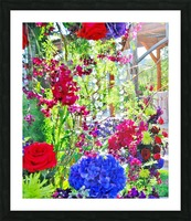 Wedding flowers  Picture Frame print