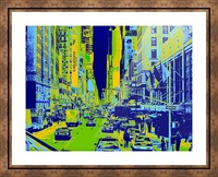 Madison Ave Picture Frame print