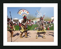 Apache Indian dancers Picture Frame print
