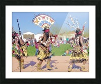 Apache Indian Tribal Ceremony Picture Frame print