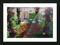 After The Wedding Picture Frame print