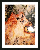 Marble edited Picture Frame print