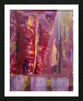 Change is Inevitable Abstract Painting Picture Frame print