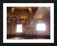 Old Native American Dwelling Grand Canyon AZ Picture Frame print