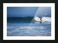 Califonia surfer Picture Frame print
