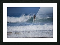Dana Point surfer Picture Frame print