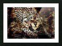 Jaguar Guyana Picture Frame print