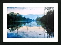 Cambodia Picture Frame print