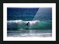 Makaha Hawaii Picture Frame print