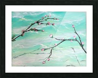 Spring is in the air Picture Frame print