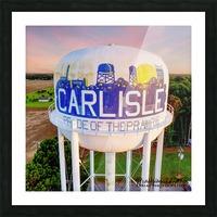 Carlisle, AR   Carlisle Water Twr  Picture Frame print