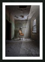 Abandoned Asylum Picture Frame print