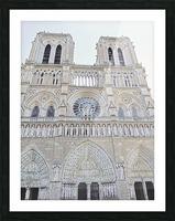Notre Dame & Details Picture Frame print