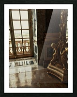 Versailles & Window Picture Frame print