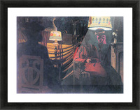 The visit -1- by Felix Vallotton Picture Frame print