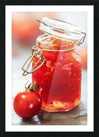 Tomato Jam in Glass Jar Picture Frame print