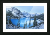 Heavenly blue Picture Frame print