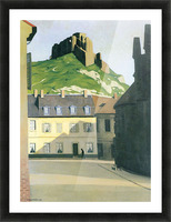 Town square in Andlys by Felix Vallotton Picture Frame print