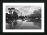 Bridge of dreams Picture Frame print