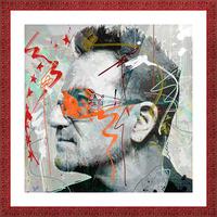 Bono Picture Frame print