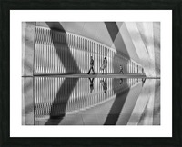 Valencia shadows Picture Frame print