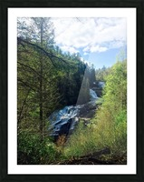 Waterfall Delight Picture Frame print