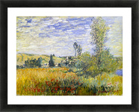 Vetheuil by Monet Picture Frame print