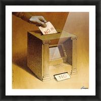 Vote Picture Frame print