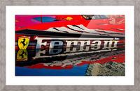 Ferrari Picture Frame print