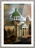 St Georges Cathedral Picture Frame print
