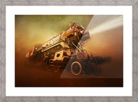 Engine 1095 Picture Frame print