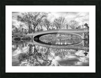 Bow Bridge Picture Frame print