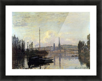 View of Rouen by Monet Picture Frame print