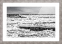 Stormy Seas Picture Frame print