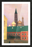 View of the Kremlin in Moscow by Felix Vallotton Picture Frame print