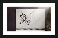 Tattoo studio design Picture Frame print