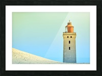 Lighthouse Rubjerg Knude Picture Frame print