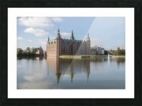 Castle of Frederiksborg  Picture Frame print