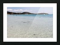 Rondinara beach Picture Frame print