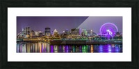 Montreal skyline Picture Frame print
