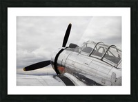 P-53 Nose Picture Frame print