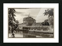 Castel Sant Angelo Picture Frame print