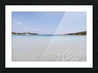 Rondinara beach in Corse Picture Frame print