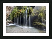 Capelli di Venere waterfalls Picture Frame print